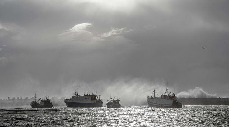 Gansbaai Harbour during Cape Storm -  Photo by Martha van der Westhuizen