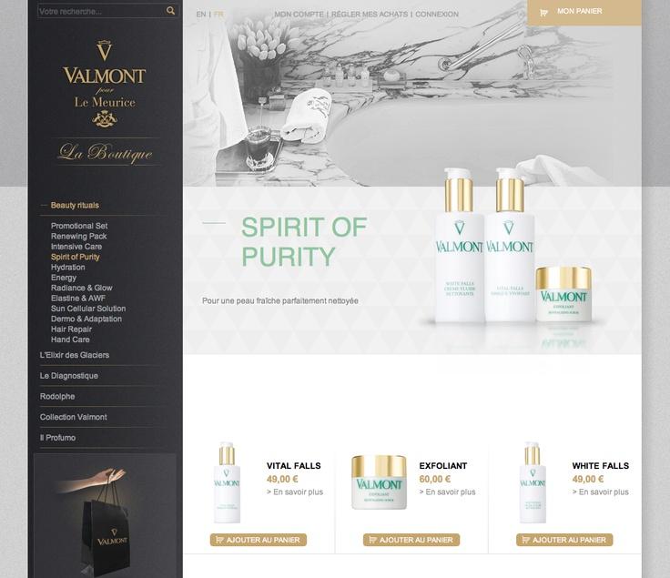 Site eCommerce de Valmont