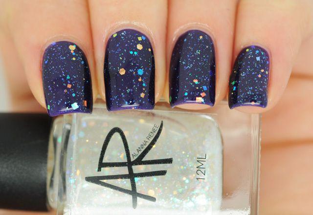 Alanna Renee Milky Way (Over Evening Amethyst)