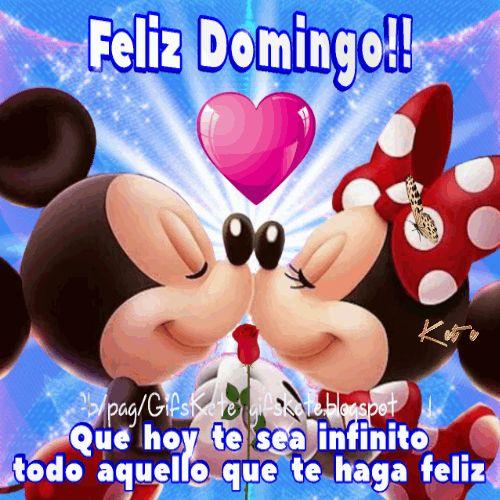Feliz Domingo!! Que hoy te sea infinito todo aquello que te haga feliz