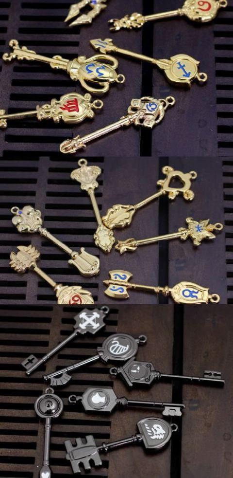 FAIRY TAIL Lucy Heartphilia Celestial Spirit Gate Keys (1 Piece)