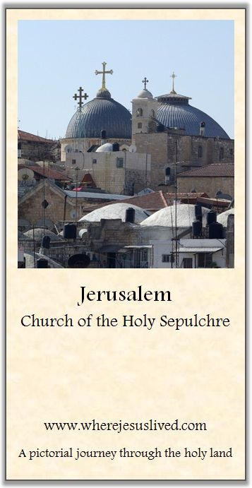 Jerusalem the holy site and home of god
