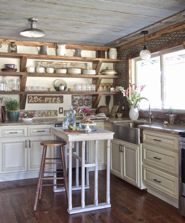 Vintage Whites Blog: Renovated Rustic Montana Farmhouse. This whole house is rather amazing.