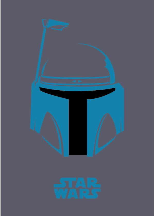 Tribute to Star Wars Character by Joseph Prathista, via Behance