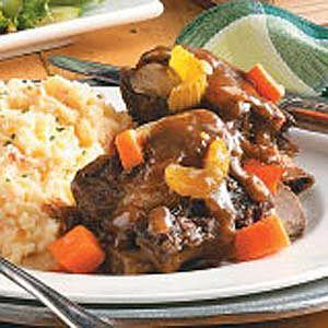 Braised Short Ribs...gonna try this recipe and see how they turn out. This time though I am buying my short ribs from a butcher not Sams club!!!