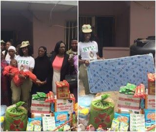Miss Susan Abraham a 2016/17 batch B stream 1 Corps Member in Oyo state (OY/16B/0950) has given a facelift to the Mercy of God Home Iwo road Ibadan and gave the environment a new look. Susan renovated the buildings and provided 14 mattresses foodstuffs such as bags of rice garri provisions and toiletries for the home. The Corps member said that the aim was to provide major needs for the home make it visible to public awareness.  She said the need to reach out to the less privileged was…