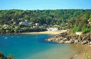 North Sands Beach, Salcombe Devon where I learnt to walk... And had a chat with the sand.