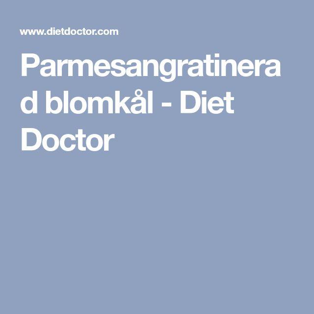 Parmesangratinerad blomkål - Diet Doctor