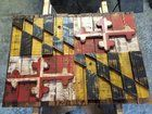 A Maryland Flag Out of Pallet Wood - Copied a Year-Old Post From u/mutantninjaterp