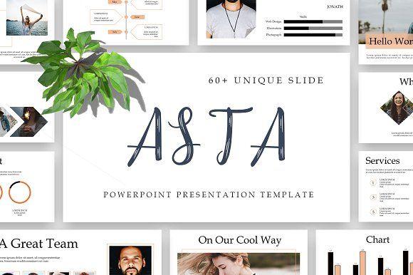 ASTA Powerpoint Template by Maspiko on @creativemarket