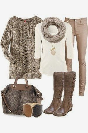 Cute winter lovely outfit for fall | Fashion World