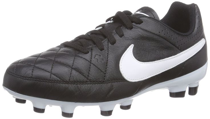 Nike Tiempo Genio Leather Firm Ground Junior Football Boots-2. Soft, full-grain natural leather upper for comfort and superior touch. High-density, die-cut EVA sockliner for comfort and reduced cleat pressure. Strategic cleat design delivers traction and stability Firm-ground cleats for use on short-grass fields that may be slightly wet but rarely muddy. NIKE Tiempo Genio... Game Changing Cleats!.