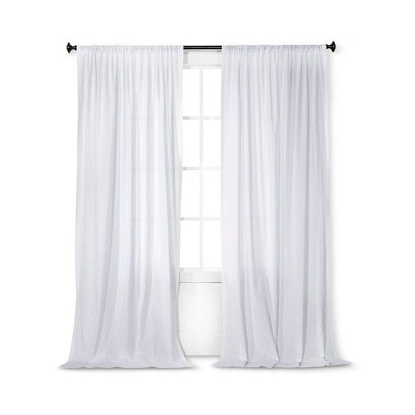17 best ideas about White Sheer Curtains on Pinterest | White ...