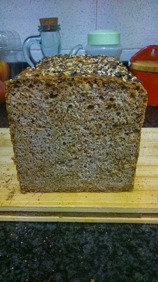 Pan de almendras: Pan de soda sin gluten: Trigo sarraceno