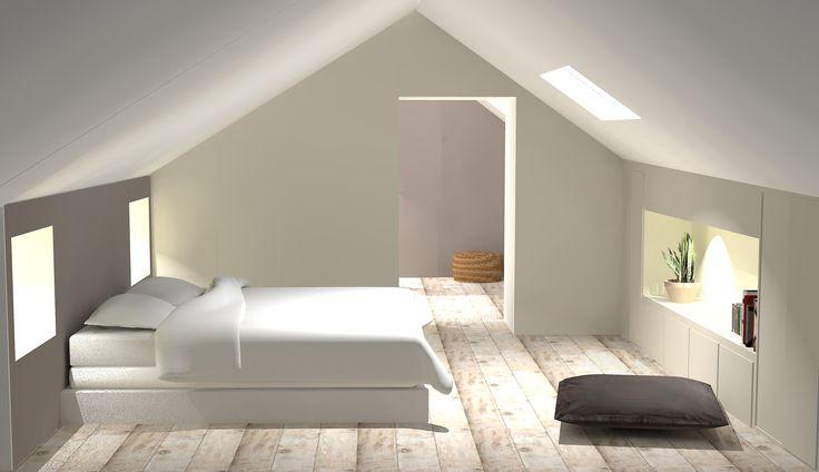 combles r habilit s en suite parentale chambre deco pinterest suite master parental et. Black Bedroom Furniture Sets. Home Design Ideas