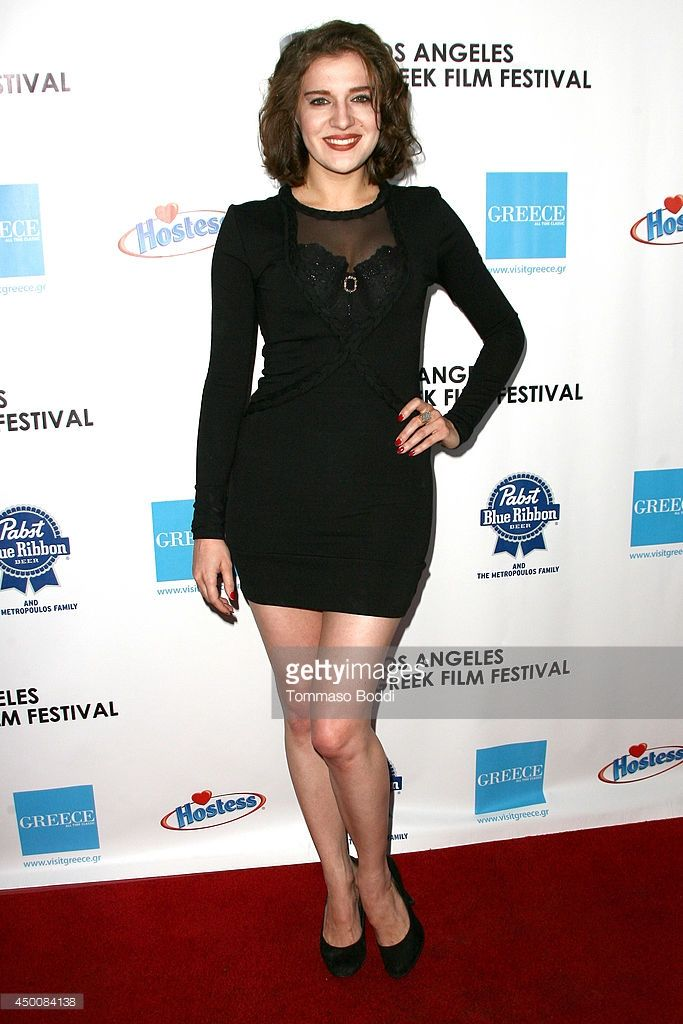 Singer Ariana Savalas attends the 8th annual Los Angeles Greek Film Festival opening night gala held at the Egyptian Theatre on June 4, 2014 in Hollywood, California.