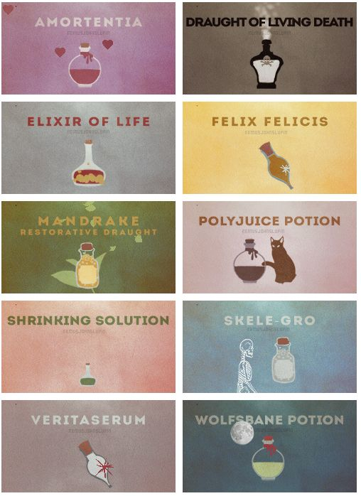 1000  ideas about harry potter potions on pinterest