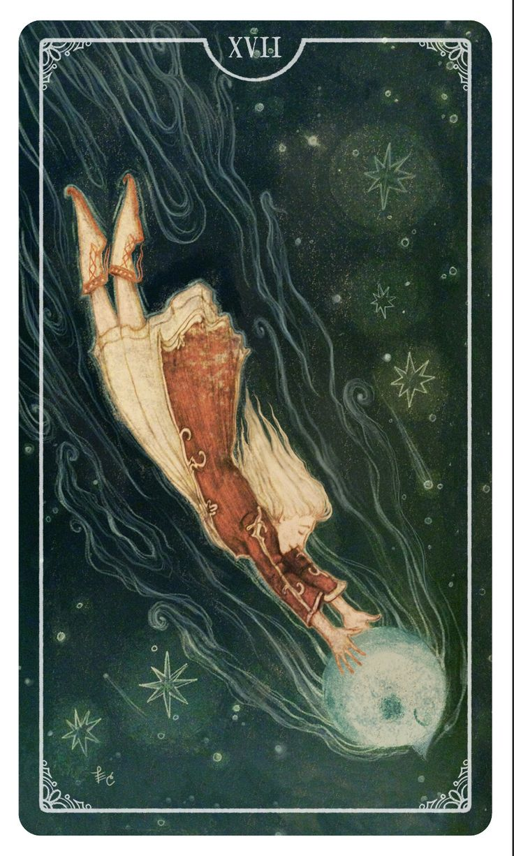 The Star - Tarot card By Eden Cooke Ostara Tarot