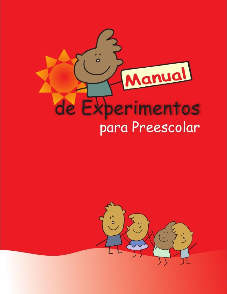 Manual de experimentos preescolar