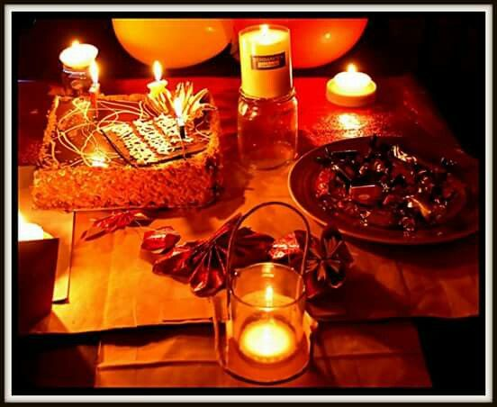Candle light dinner party ideas by sameeha
