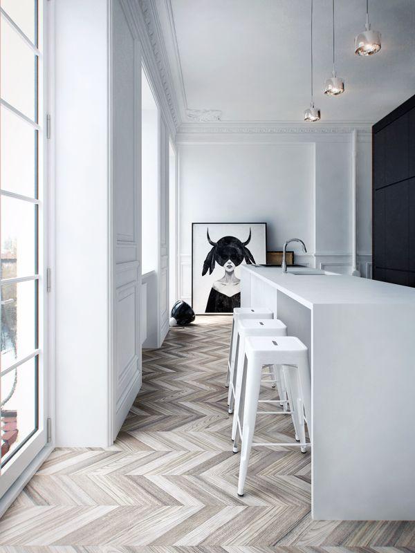 Flooring - master bathroom