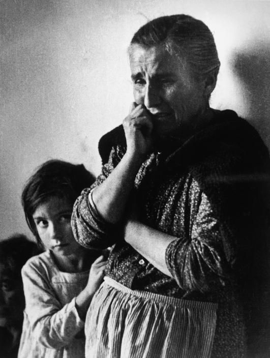 Robert Capa - SPAIN. Murcia. February 1937. Refugees from Malaga.