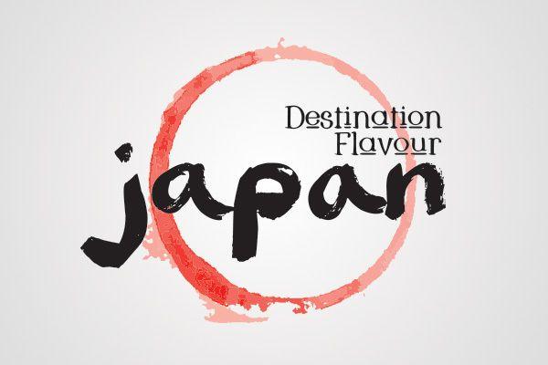 Destination Flavour Japan Logo and Illustrations by Katlyn Macdonald, via Behance