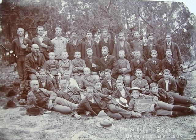 Geni - Photos in Photos from Anglo Boere Oorlog/Boer War (1899-1902) POW Bermuda P.O.W. School Boys Darrells Isle. 1902