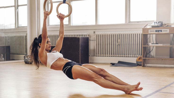The ultimate home workout: Gymnastics rings