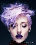 Amazing purple hair color idea. #haircolor #hair #hairstyle #trends