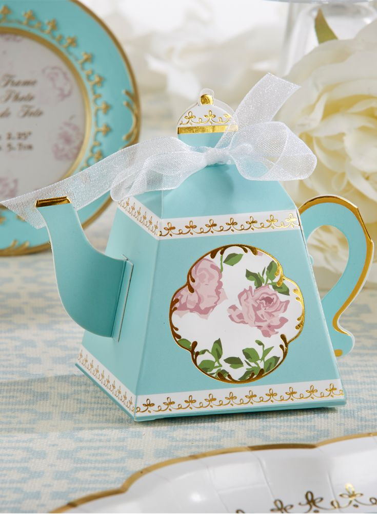 Whether You Re Hosting A Tea Party Bridal Shower Or High Las Luncheon These Teapot Favor Bo Are The Perfect Favors