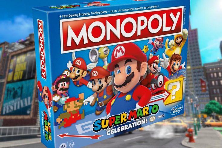 Nintendo y Hasbro se alían para crear juegos de mesa en el 35 aniversario de Mario Bros. New Super Mario Bros, Super Smash Bros, Donkey Kong, Nintendo Ds, Wii U, Monopoly, Classic Dinnerware, Mario Bros., Modern Dining Chairs