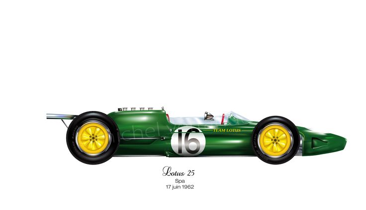 Lotus 25 - 1962