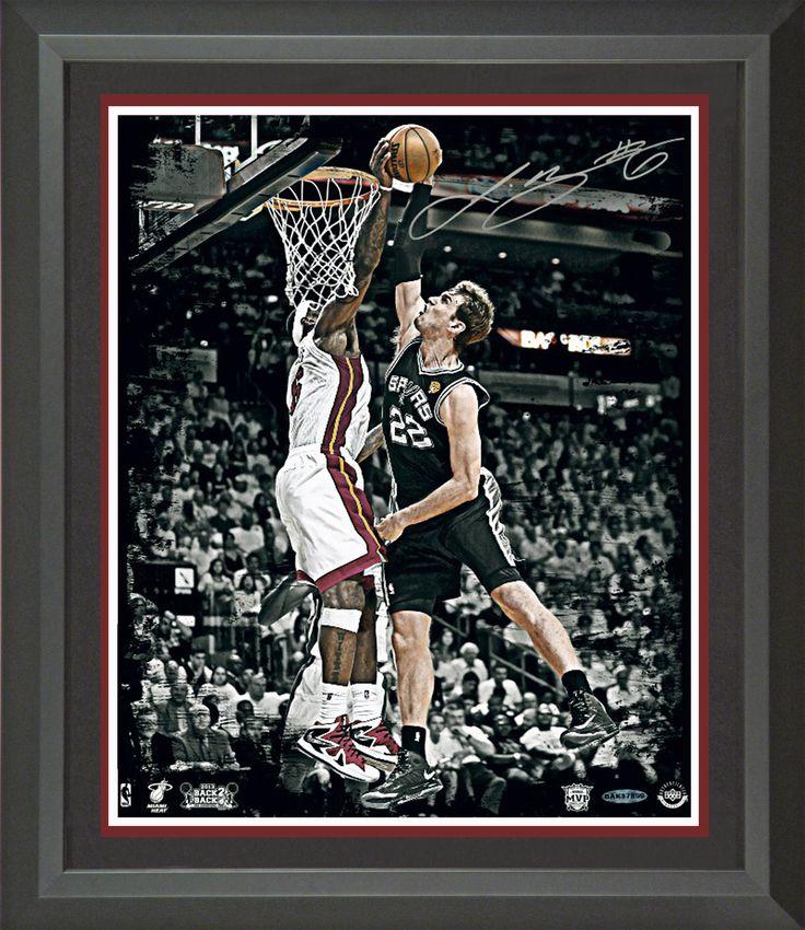 Lebron James Signed 2013 NBA Finals Rejection Photo Framed | Signed Photo, Jersey, Shoes, Basketball Memorabilia