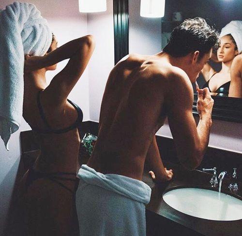 Imagem de couple, love, and goals