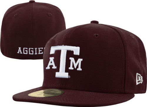 """NCAA Texas A&M Aggies College 59Fifty by New Era. $23.99. wool. 100% Wool. This 59Fifty® Fitted Cap Features An Embroidered (Raised) Texas Longhorns® Logo """"Longhorns"""" On The Front, Stitched New Era® Flag At Wearer'S Left Side, And Embroidered """"T"""" Logo On The Rear. Interior Includes Branded Taping And A Moisture Absorbing Sweatband."""