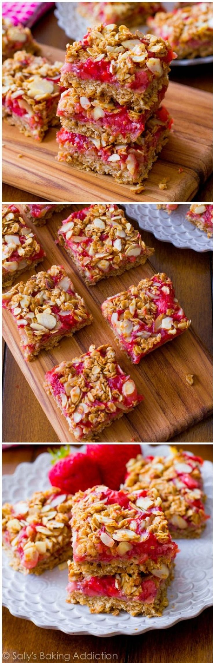 Healthy-Strawberry-Oat-Squares.jpg (763×2372)
