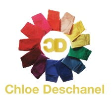 CHD-5023 Extra Soft and Stretchy Skinny Jeans in Purple by Chloe Deschanel (Women Chloe Deschanel)