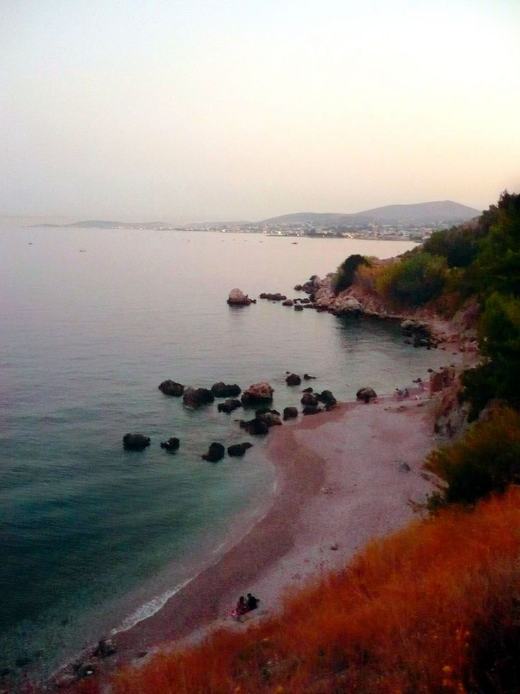 Mersinidi Beach in Chios island, Greece.  - Selected by www.oiamansion.com