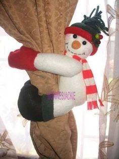 ResuAgaltado de imagen para agarra cortinas navideñas
