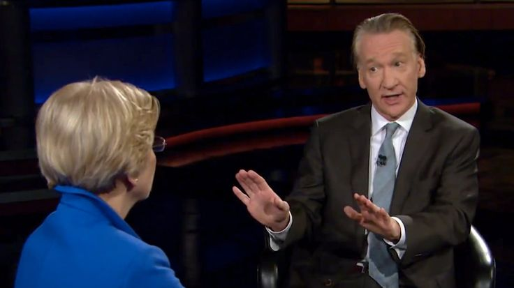 "4/29/17 Bill Maher Grills Elizabeth Warren: 'They Don't Like You, Pocahontas'    The 'Real Time' host jokingly referred to Warren as ""Pocahontas"" while questioning her on why the Dems can't seem to connect with voters"