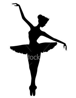 Ballet Dancer Silhouette Clip Art - Learn to dance at BalletForAdults.com!