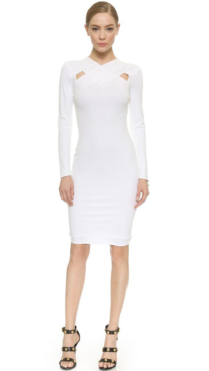 ** Versace Long Sleeve Dress
