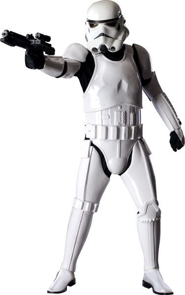 Stormtrooper Collectors Edition. Todellisen Star Wars fanin pakollinen hankinta. Tuote ei ole varastotuote, joten ota yhteyttä sähköpostitse halutessasi puvun. Toimitusaika noin 14 vrk. Sisältää: - 1 kpl Taistelukypärän - 2 kpl Olkapääpala - 2 kpl Käsipalat - 2 kpl Olkapää sträpit - 1 kpl Rintapanssari - 1 kpl Takaolkapäät - 1 kpl Vatsapanssari - 1 kpl Selkäpanssari - 1 kpl Taisteluvyö - 1 kpl Takamuksen - 2 kpl Forearmit - 2 kpl Reidet - 2 kpl Pohkeet - 1 kpl Musta alusasu - 2 kpl Hanskat