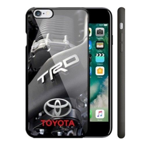 Engine Toyota TRD Automotive Logo iPhone 6 6s 7 8 X Plus Hard Plastic Case #UnbrandedGeneric