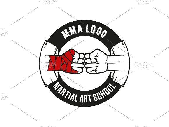 MMA Logo by Kochopuszek on @Graphicsauthor