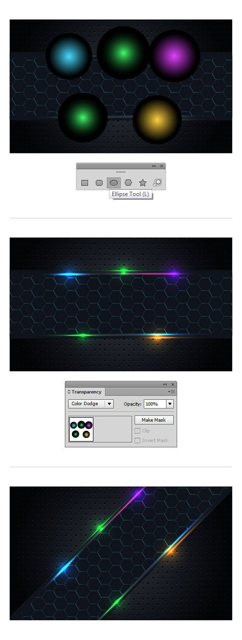 Follow this quick tip and learn how to draw a shiny abstract background. Using the basic shape tools and some gradients, you will be able to create nice looking vector backgrounds. In addition, we'll take a look at the basics of Illustrator's new pattern creation tools and get started using it. Let's check out how …