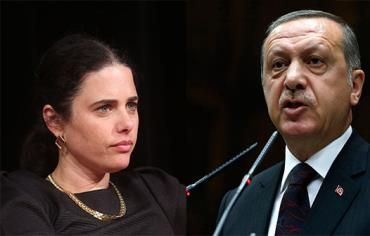 Erdogan: 'Ayelet Shaked has same mindset as Hitler'