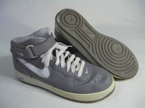 huge discount 12b72 ab90e Sold NIKE AIR FORCE 1 MID MEDIUM GREY WHITE SIZE 11  304096-011   Men s  Fashion   Nike air force, Air force 1 mid, Nike