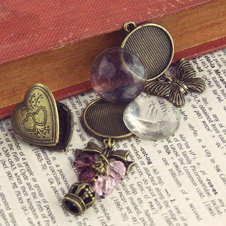 Prima - Vintage Trinkets Collection - Metal Embellishments - Mix 2 at Scrapbook.com $4.99